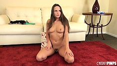 Teal Conrad lets everybody see her extremely sexy body and appetizing ass