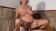 Chubby grandmas need love and they sure as fuck know how to please