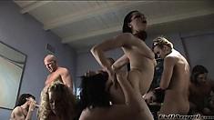 High end BDSM aficionados have a wild party full of hardcore sex