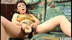 Mature housewife welcomes a young and eager cock into her cunt
