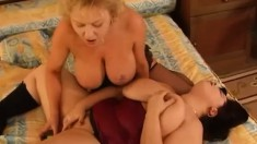 Radka and Elizabeth have a dildo treat and get toyed to have an orgasm