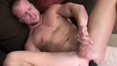 Nash Lawler gets horny and uses a sexy butt plug for pleasure