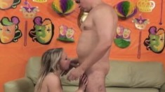 Natalia Rogue Toys Her Squirting Peach And Bounces On A Raging Shaft