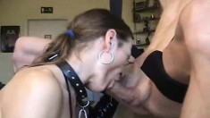 homemade amateur girlfriend blowjob and facial cumshot
