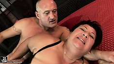 Lawanda and her hubby do some incredibly porn on broad, comfortable bed