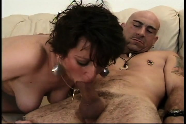 Lesbian seduces mature