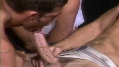 Four Wonderful Studs Indulge In Wild Anal Sex Before Cumming Together