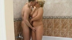 Mature Couple Shower Cam