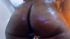Ebony big boobs and juicy ass of Anya Ivy