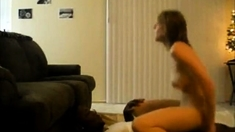 Slutty Girlfriend Enjoys Black Dick