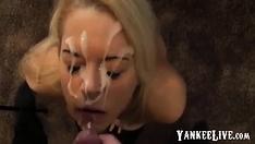 Mry - Busty Girl Sucks Dick For Big Cum Facial