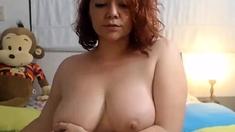 hot big tits chubby tease