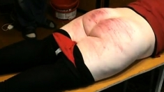 Bdsm Rough Ass Spanking Lesson For Nude