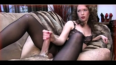 Cfnm Handjob Party With Femdom Getting Cumshot