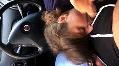 Pompino In Una Fiat
