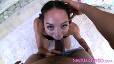 SWALLOWED Alexis Tae puts her throat to the test