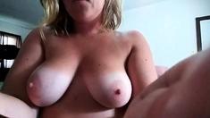 BuztyBrenda Big Tit webcam model using toys to masturbate